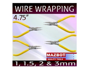 4pc Mazbot  Pro WIRE WRAPPING Pliers Beading Jewelry Making Tools set MWPSET