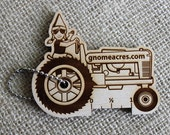 WPI Gauge Keychain - Laser Cut Wood - Designed by GnomeAcres