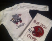 Alabama Appliqued Girl/Boy Monag T-Shirt