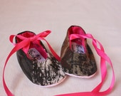 Baby girl camo, baby girl Mossy Oak shoes, baby girl shoes