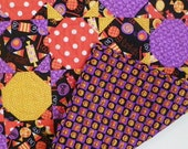 Halloween Quilted Throw - Sweet Treats