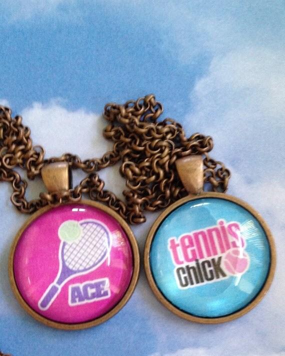 Tennis Pendant Necklace