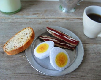 Felt Food Rustic Country Breakfast