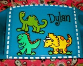 Children's Dinosaur Lap Tray
