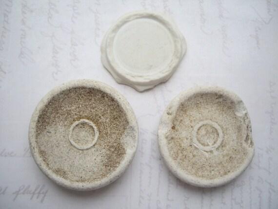 Vintage Ceramic Cream Bases SP849