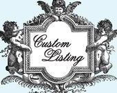 CUSTOM EDIT LISTING - Cutie Putti Paperie