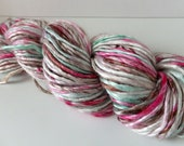Destash - Iced- Handspun Bamboo yarn - 96 yds