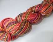 Destash - Summer Carnival - Handspun Bamboo yarn - 138 yards