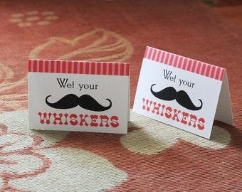 Mustache Party Custom Card - PRINTABLE