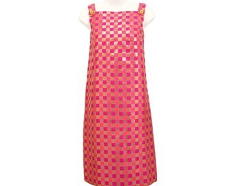 Vintage 1960s Mod Dress, Lanz Originals