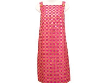 Vintage 1960s Mod Dress, Lanz Originals