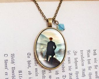 Sea of Mist - Vintage Necklace