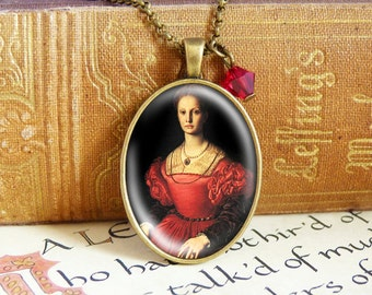 Blood Countess Báthory  - Vintage Necklace