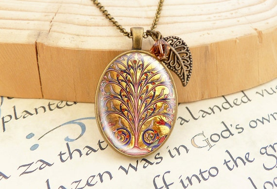 Tree of Life  - Vintage Necklace
