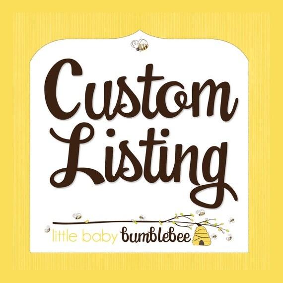 Custom Listing for jfine31