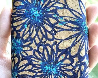 For Samsung Galaxy S III 3 i9300 Blue Daisy Cork Phone Case