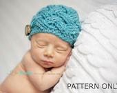 Crochet hat patterns , beanie crochet pattern - boys hat patterns , infant hat patterns , baby boy patterns,  photo prop pattern
