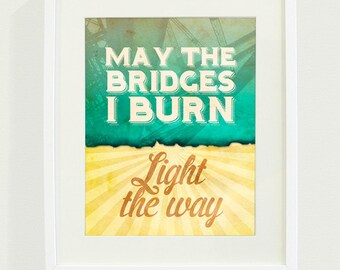 Light the Way Art Print // 8 x 10
