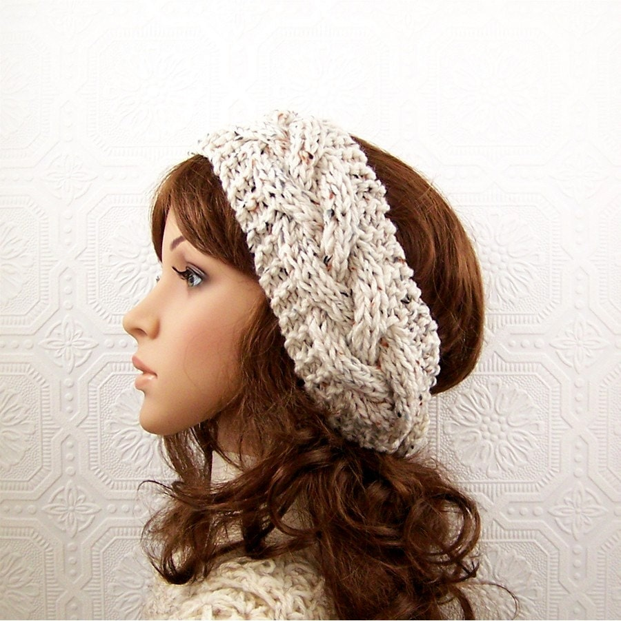 Attractive Knit Winter Headband Pattern Ornament - Blanket Knitting ...