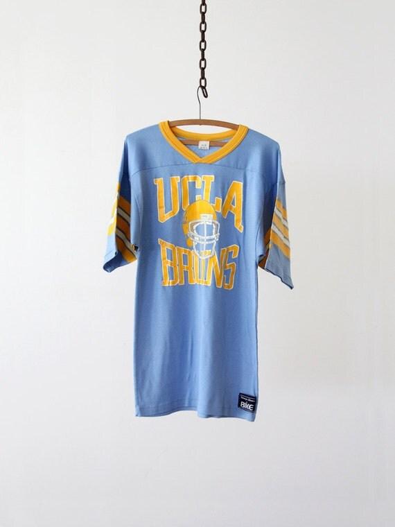Vintage UCLA Bruins Tee / Vintage Football Jersey