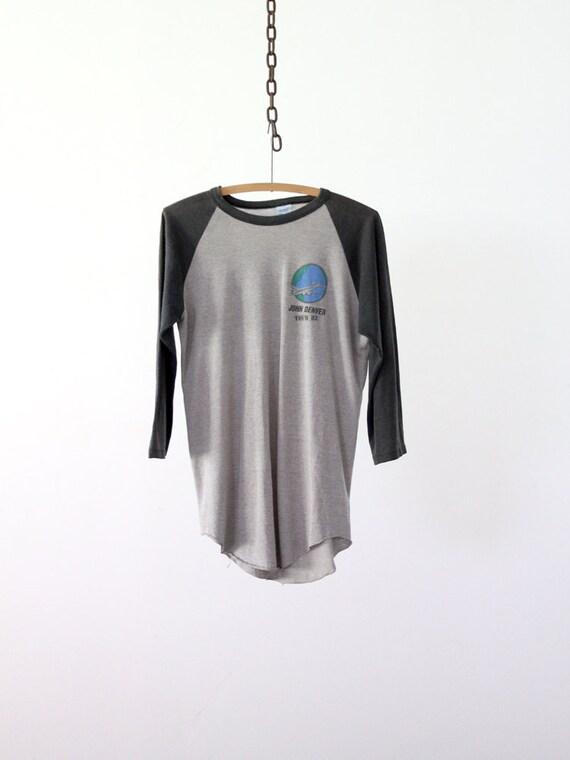original John Denver t-shirt,  1982 tour
