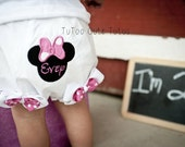 Minnie Mouse Bloomers-Personalized