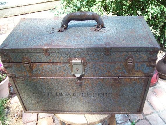 Vintage Industrial Machinist Toolbox.