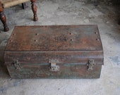 Antique Iron Trunk from N. India