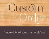Custom Wood Wedding Invitations RESERVED FOR Adrianna R