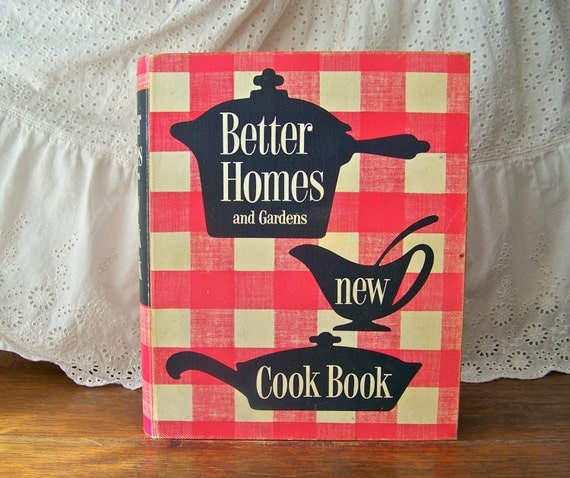 Vintage Better Homes and Gardens Cookbook 1953 by