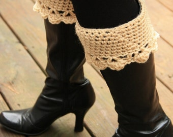 Boot Cuffs in Lots of Colors, leg warmer,  boot sock