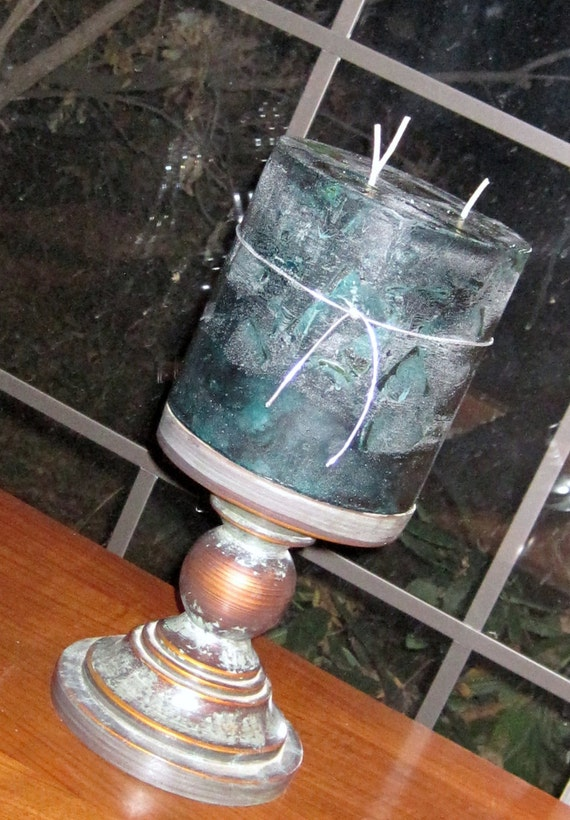 TREASURY Item Tranquil Moments Candle Three Wicks  XX LARGE Custom Order Your Own Scent  Color Northwoods Pine Cedar