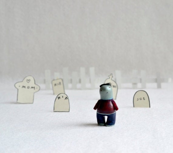 lost zombie -  figurine