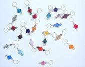 Swarovski Crystal Knitting Stitch Markers - Set of 4