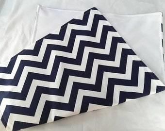 Baby Changing Pad in  Chevron Zig Zag Infant to Toddler