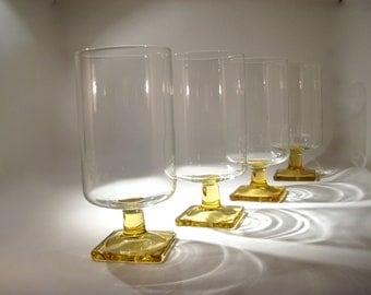 6 Vintage Cocktail Glasses