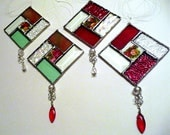 Custom Order for Gina - Stained Glass and Mosaic Suncatchers