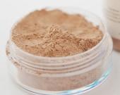Medium Dark Mineral Powder Foundation - Medium Dark Foundtion Powder - All Natural