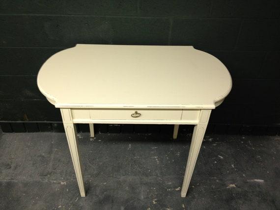Console Table/ Desk in Veranda Ivory