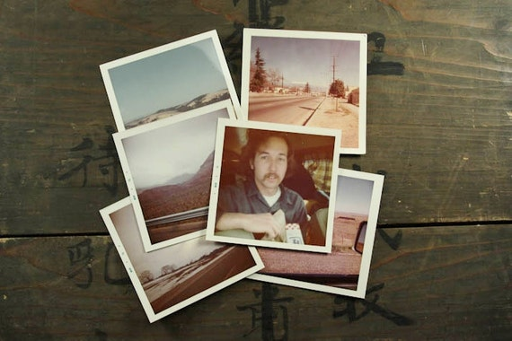 "75 Vintage Photos ""Road Trip"", Photography, Paper Ephemera, Snapshot, Old Photo, Collectibles - 456"