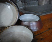Set of 3 Dog Bowls - RESERVED for Sarah