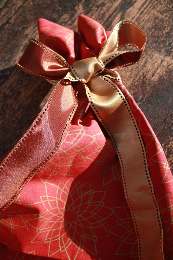 Extra Large Sized - Christmas Reusable Gift Bag for all your gifts or for one BIG gift - Toy bag