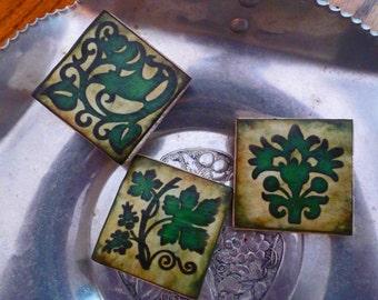 CELTIC WEDDING FAVOR Stone Tile Magnets  Set of 10