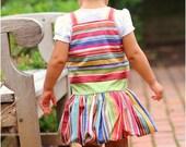 Chelsea Bubble Jumper: Girls Dress Pattern, Jumper Pattern, Instant Download PDF Sewing Pattern