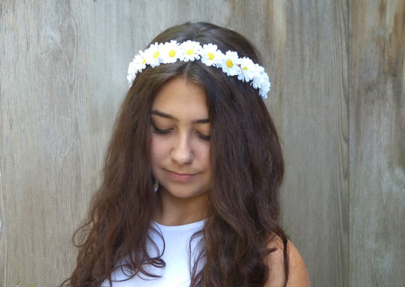 Flower crown headband Etsy