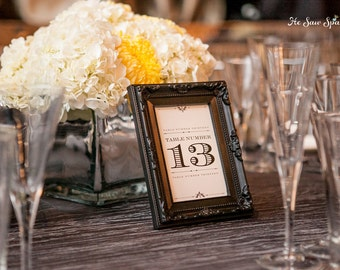 Table Numbers - DIY - Printable - Devotion