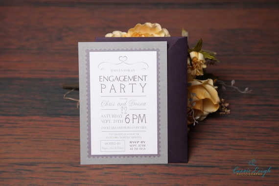 Engagement Party Invitations,  Bridal Shower