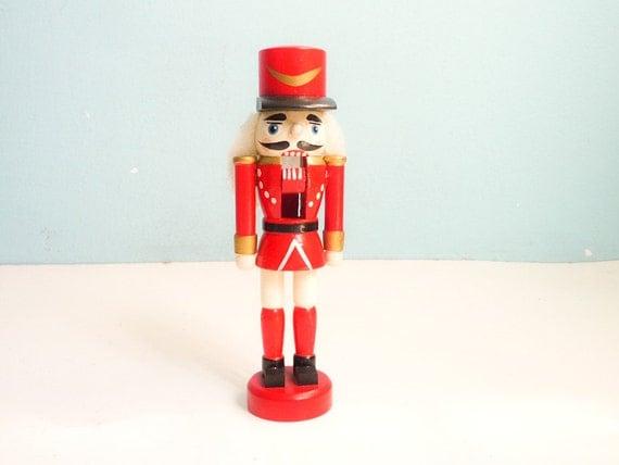 Vintage Nutcracker Toy Guard Wooden