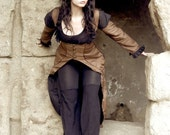 Steampunk Corset Coat - Made to Order