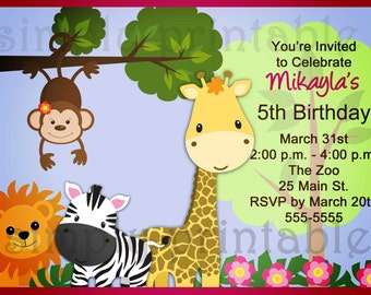 Rock Star 1st Birthday Invitation for Boys by simplyprintable